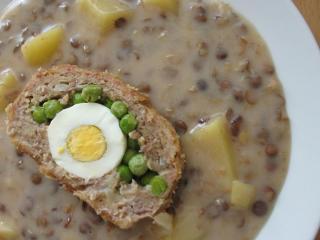Šošovicovo - zemiakový prívarok