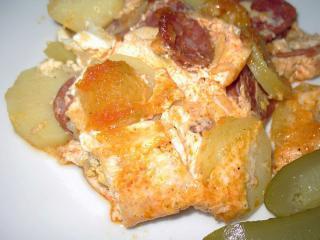 Francúzske zemiaky zo surových zemiakov