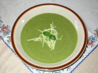 Jednoduchá brokolicová polievka