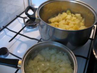 Príprava cibule