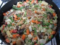 Pridáme ázijskú zeleninovú zmes