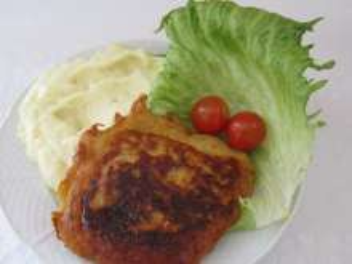 Bravčový rezeň v zemiakovom ceste