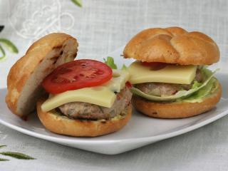 Bravčové hamburgery