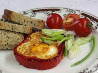 Vajíčka v paprike