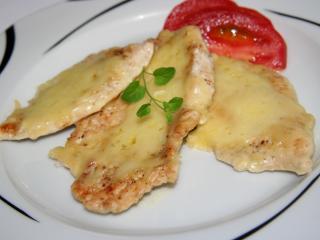 Kuracie prsia zapečené so syrom a smotanou