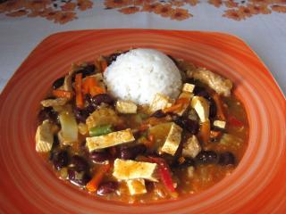 Bravčový wok s tofu