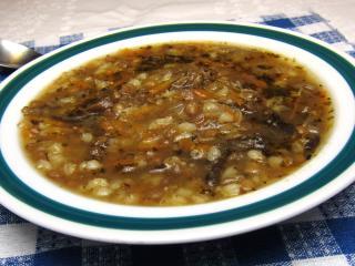 Ovarová polievka