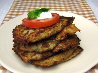 Kalerábovo-zemiakové placky