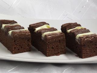 Krémové kakaové rezy