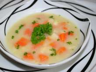 Hustá zelerová polievka
