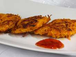 Pikantné tekvicovo-mrkvové placky