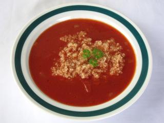 Paradajková polievka s quinoa