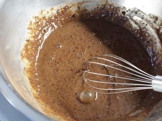 Príprava kakaového palacinkového cesta