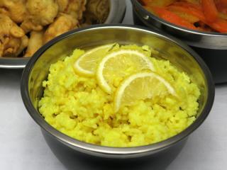 Citrónová ryža