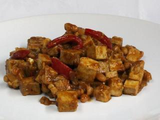 Tofu s fazuľou