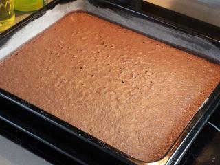 Piškótové kakaové cesto