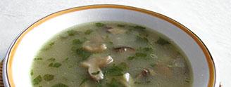 Hubové polievky