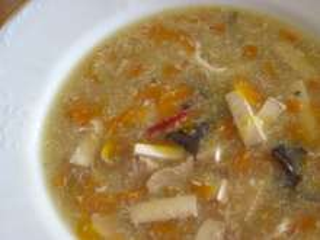Mrkvová ostro-kyslá polievka