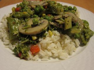 Šampiňóny s brokolicou v ustricovej omáčke