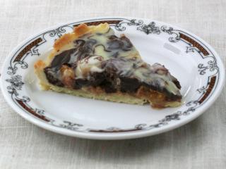 Mandarínkovo-ananásový čokoládový koláč