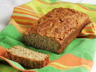 Nekysnutý chlieb z ovsenných vločiek