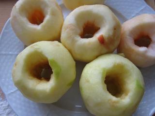 Príprava jabĺk