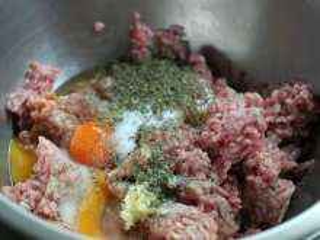 Príprava mäsovej zmesi