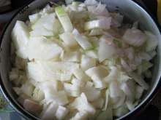 10:00 Príprava cibule - koľko mäsa, toľko cibule