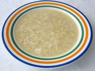 Zapražená vajíčková polievka