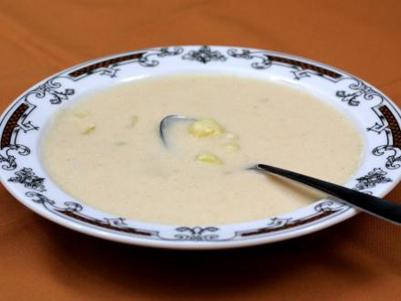 Zemiaková kyslá polievka