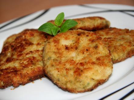 Karfiolovo brokolicové fašírky so syrom