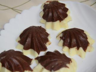 Dvojfarebná čokoláda