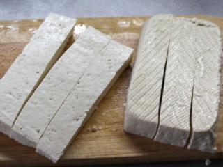 Nakrájame tofu