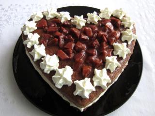 Jemná tvarohová torta