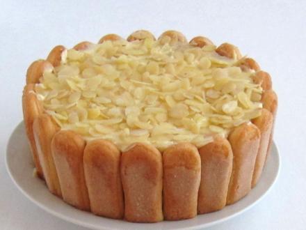 Torta Malakov s mascarpone