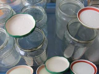 Príprava zaváracích fliaš