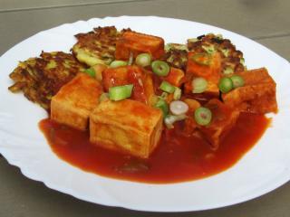 Tofu v paradajkovej omáčke