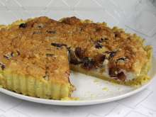 Slivkový koláč so stéviou