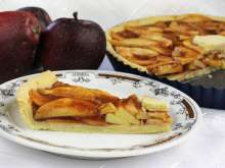 Jablkový koláč so škoricou
