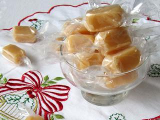Medové karamelové cukríky