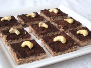 Tofu čokoládovo-orieškové kocky