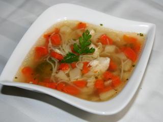Jednoduchá kuracia polievka