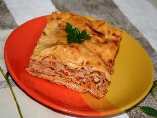 Lasagne s jemným bešamelom