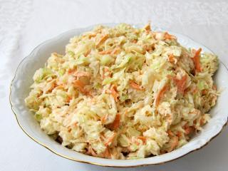 Kapustový šalát Coleslaw