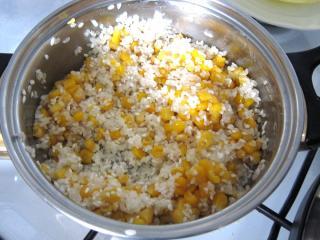Ryža s kukuricou