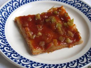 Kysnutý rebarborový osúch s džemom
