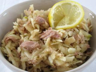 Tuniakovo-jablkový šalát