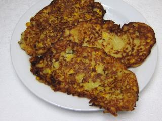 Zemiakové placky s kukuricou