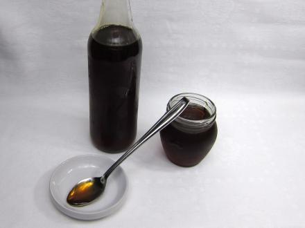 Púpavový sirup (med)