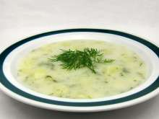 Kôprová smotanová polievka